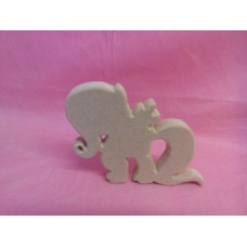 18mm MDF  standing Fantasy pony design 1